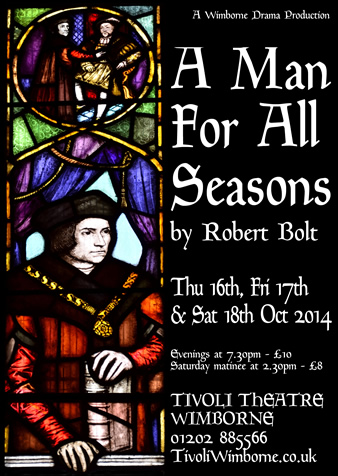 An analysis of thomas more a character in a man for all seasons a play by robert bolt
